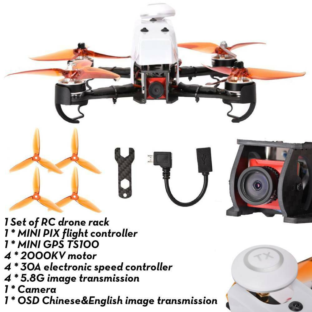 QAV210 GPS FPV Racing Drone HD telecamera PIX  volo Control 120km h RC Quadcopter  ordina adesso