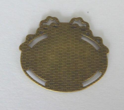 Bilderrahmen Rahmen Foto Messing Puppenhaus Miniatur 1:12 Rechteck Oval Herz