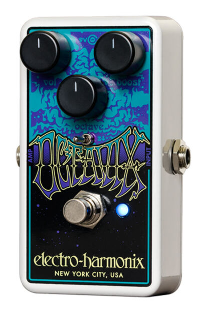 Electro-Harmonix Octavix Fuzz & Ottava Pedale