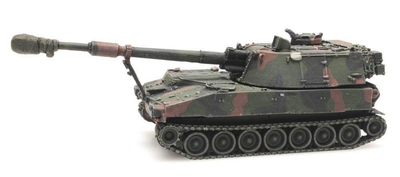 Artitec 6870149 NL M109 A2 Camo Eisenbahntransport H0 1 87 Fertigmodell Panzer    Lebendige Form