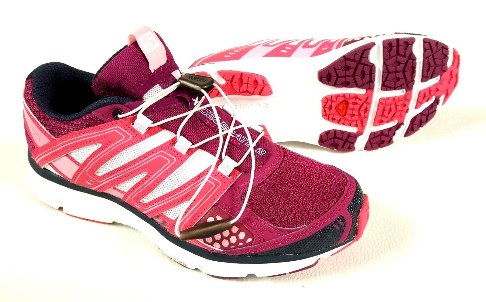 Salomon X-celerate señora zapatillas citytrail zapatos zapatillas deportivas púrpura