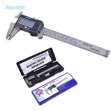 6 Inch 150mm Electronic Mini Digital Caliper LCD Vernier Micrometer Guage Ruler
