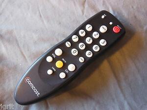 Comcast remote control - DC50X Receiver TV cable box di