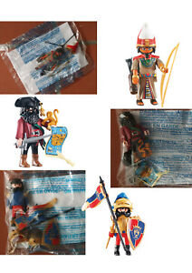 Playmobil Personnages/Fi<wbr/>gurines au choix Pirate, Viking, Chevaliers, Egyptian