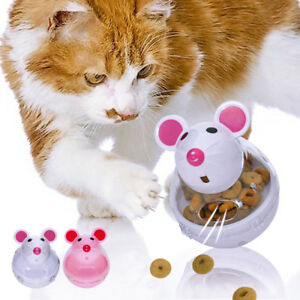 Dog Toys Dog Cat Tumbler Bone Shape Leakage Toy Interactive Training Iq Feed Food Ball Dog Toys Ball Puppy Cat Food Dispenser Feeder Toys Spare No Cost At Any Cost