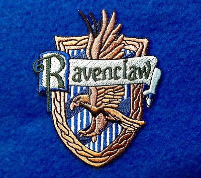 RAVENCLAW Iron On Embroidery Patch Harry Potter 3.2 X 2.7 Hogwarts GRYFFINDOR