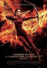 Hunger Games Il canto della rivolta parte 2 poster originale italiano 100X140cm