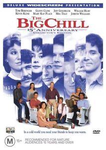 The-Big-Chill-DVD-Jeff-Goldblum-Tom-Berenger-Glenn-Close-Region-Four-R4-FastNFre