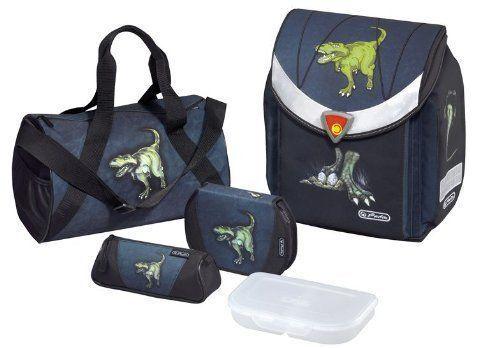 Herlitz Schulranzen Dinomania Dinosaurier 5 tlg. Flexi Plus  11280047 | Auktion  | Online einkaufen  | Um Eine Hohe Bewunderung Gewinnen Und Ist Weit Verbreitet Trusted In-und