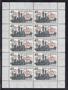 A-31-Germany-2016-MNH-Cathedral-to-Naumburg-Sheet-10-MNH-Stamps