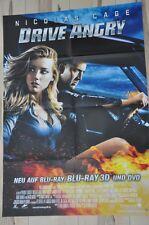 Filmposter Filmplakat A1 DINA1 - Drive Angry - Nicolas Cage - Neu