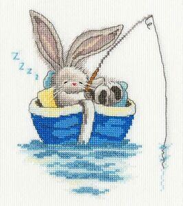 Bothy Threads Punto Croce Contato ~ KIT ~ Bebunni ~ Bunny Rabbit