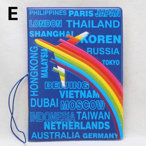 Multi-functio Identity ID Card Protector Cover Case National FlagPassportHolders
