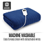 thumbnail 11 - Electric Heated Throw Blanket Indoor Outdoor Winter Plush Washable Rug 200x180cm