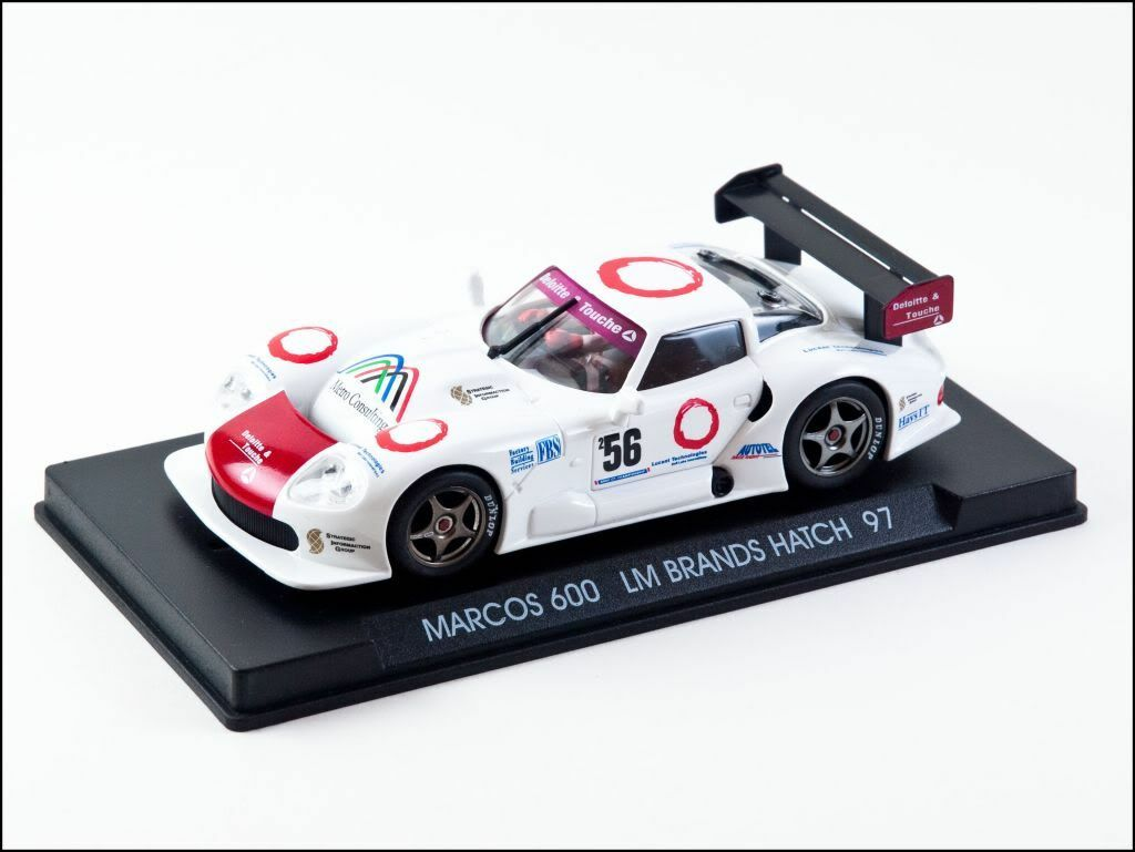 Fly Marcos 600 LM Brands Hatch 1997 (A23) - Rare & MIB