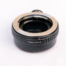 Rollei QBM Lens to CANON EOS M Mirrorless Camera M M2 M3 M10 Adapter Tripod Ring