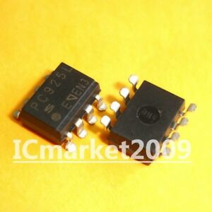 10 PCS 6N138 SMD-8 SOP-8 High Speed OPIC Photocoupler