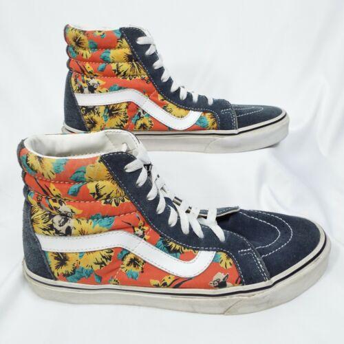 Details about  /VANS X STAR WARS Sk8-Hi Reissue Yoda Aloha Shoes Men's Size 8 Woman's Size 9.5