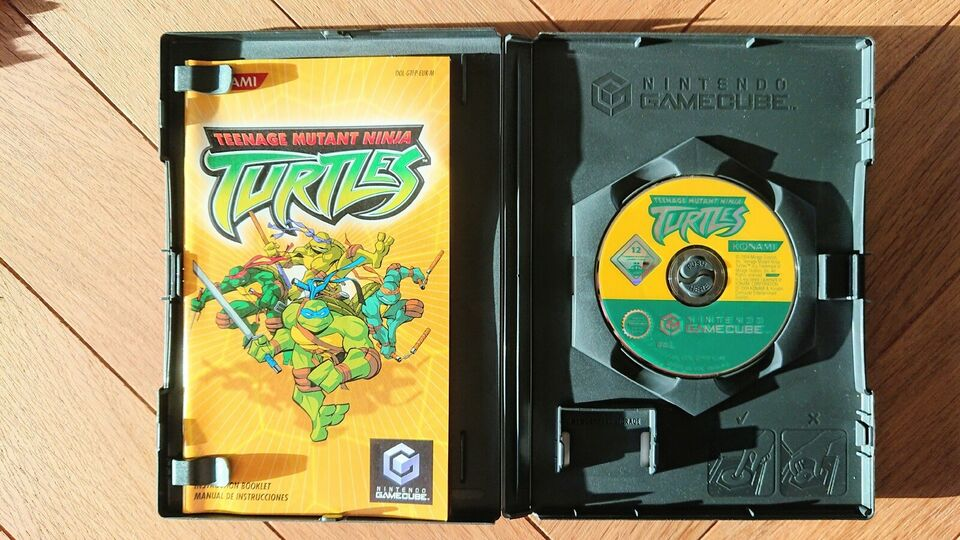 Teennage mutant ninja turtles, Gamecube