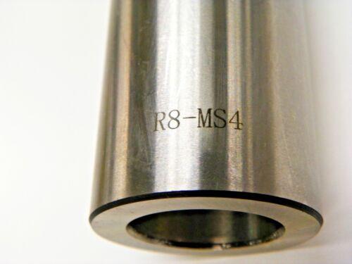 R8 TO MT4 MORSE TAPER ARBOR W// 7//16-20 THREAD FOR DRAW BAR  L083