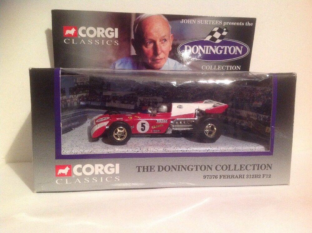 CORGI 97376 The Donnington Collection Ferrari 312B2 F12