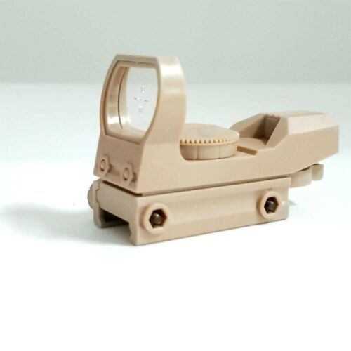 20mm Rail Riflescope Hunting Optics Holographic Red Dot Sight Reflex 4 Reticle