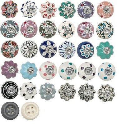 heritage door knobs handle drawers cupboards cabinets vintage shabby chic retro