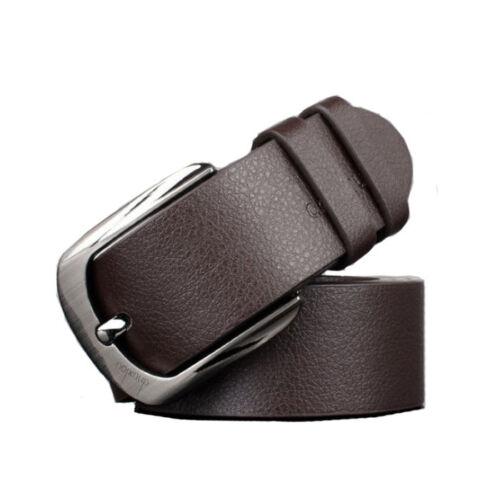 Casual Belt Fashion Chic Men Business Casual Belt Leather Waist Belt Waistband