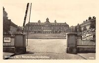 AK  Zwickau Heinrich-Braun-Krankenhaus Eingang Echt Foto Postkarte