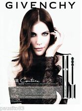 PUBLICITE ADVERTISING 106  2012  Givenchy maquillage mascara & Liv Tyler