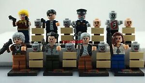 Mini Figures The Walking Dead Building Toys Andred Shane Governor Zombies #SD232