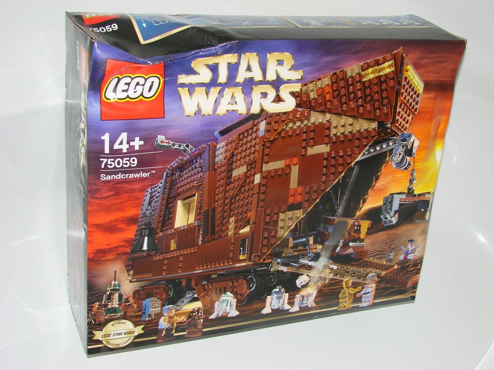 LEGO ® Star Wars ™ 75059 Sandcrawler ™ Nouveau 2tew était humide New 2nd chce Water Damage