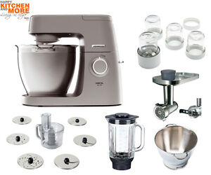 Kenwood Elite Chef XL Küchenmaschine KVL 60 6320S Mega-Paket ...
