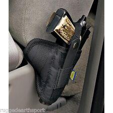 VEHICLE CAR SEAT PISTOL GUN HOLSTER *MED-LG* Fits Taurus XD 1911 SIG S&W 9 40 45
