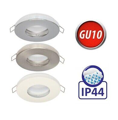 Decken Einbaurahmen LED Spot GU10 IP20 MR16 IP65 230V IP44 Wasserdicht ALU