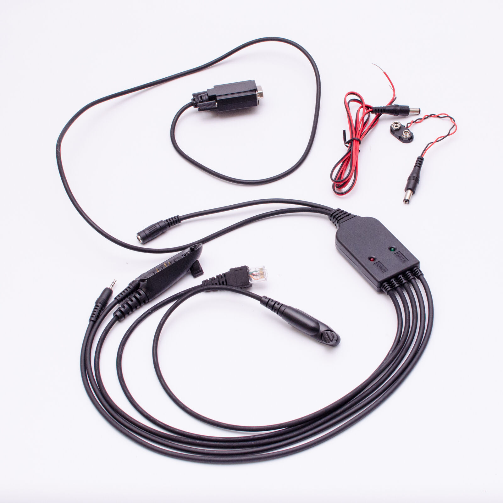 5 in 1 RS232 Programming Cable for Motorola GM300 SM50 SM120 M10 M100 LCS2000. Available Now for 35.00