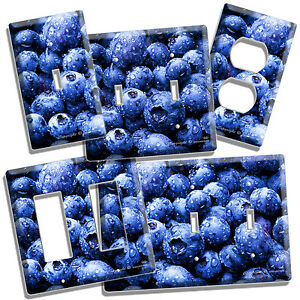 Http Www Ebay Com Itm Blueberry Berries Kitchen Dining Room Decor Light Switch Outlet Wall Plate Cover 390289899419