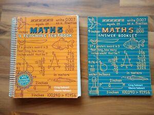 Teaching Textbooks Math 5 Student and Answer Key | eBay
