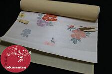 KIMONO YUKATA OBI JAPANESE GENUINE CEINTURE JAPONAISE SILK SOIE VINTAGE