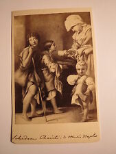 Bettelnde Kinder erhalten Almosen ? - Naples - Neapel - Kunstbild / CDV