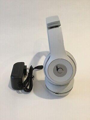 Beats By Dr Dre Solo3 Wireless Headband Headphones Satin Silver Ebay