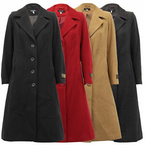 Ladies-Wool-Cashmere-Coat-Womens-Jacket-Long-Fashion-Warm-Casual-Winter-New