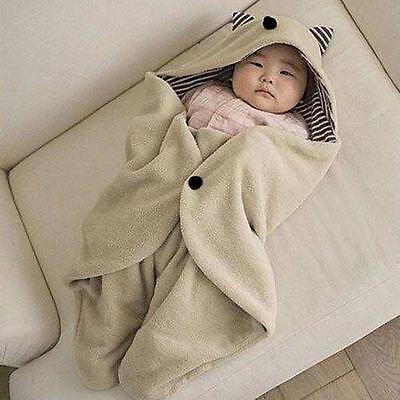 Baby Kids Toddler Newborn Blanket Swaddle Sleeping Bag Sleepsack Stroller Wrap