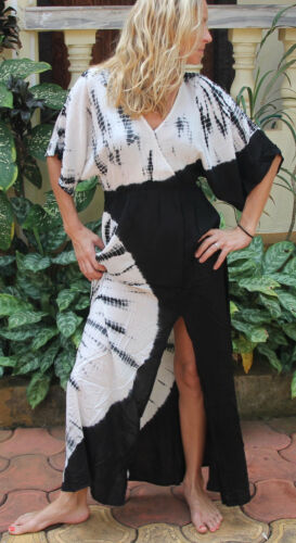 UK Boho Women/'s Summer Festival Dress Hippie Party Sundress Long Maxi Size 8-14