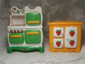 Strawberry Shortcake Berry Happy Home Kitchen Furniture New In Package Vintage