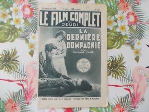 CONRAD VEIDT LAST COMPANY 1933  FRENCH MOVIE MAGAZINE