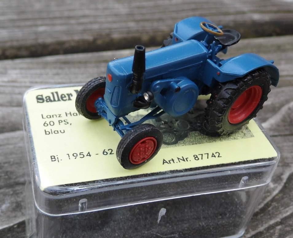 LANZ halbdiesel, 60 PS-de Saller 1 87