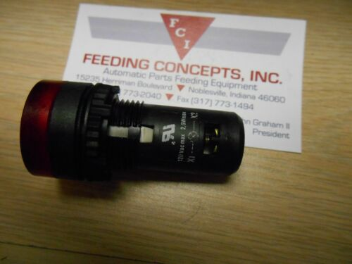 Baco Controls S20SA//SB 120 Volt Red Pilot Light