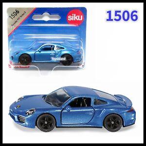 siku 1506 porsche 911 turbo s diecast car gift scale about 1 64 2018 ebay. Black Bedroom Furniture Sets. Home Design Ideas