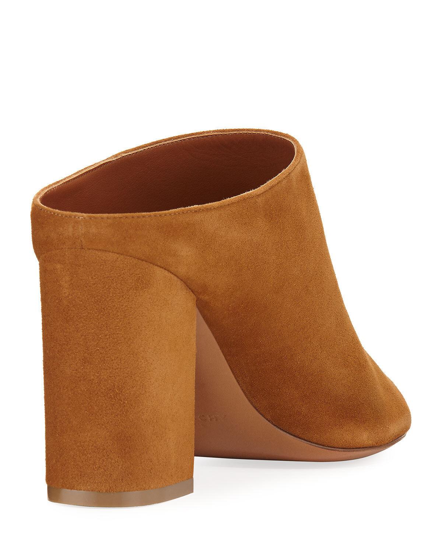 Givenchy Paris Suede Mule Sandals, Sandals, Sandals, Hazelnut Dimensione 41 d8d896
